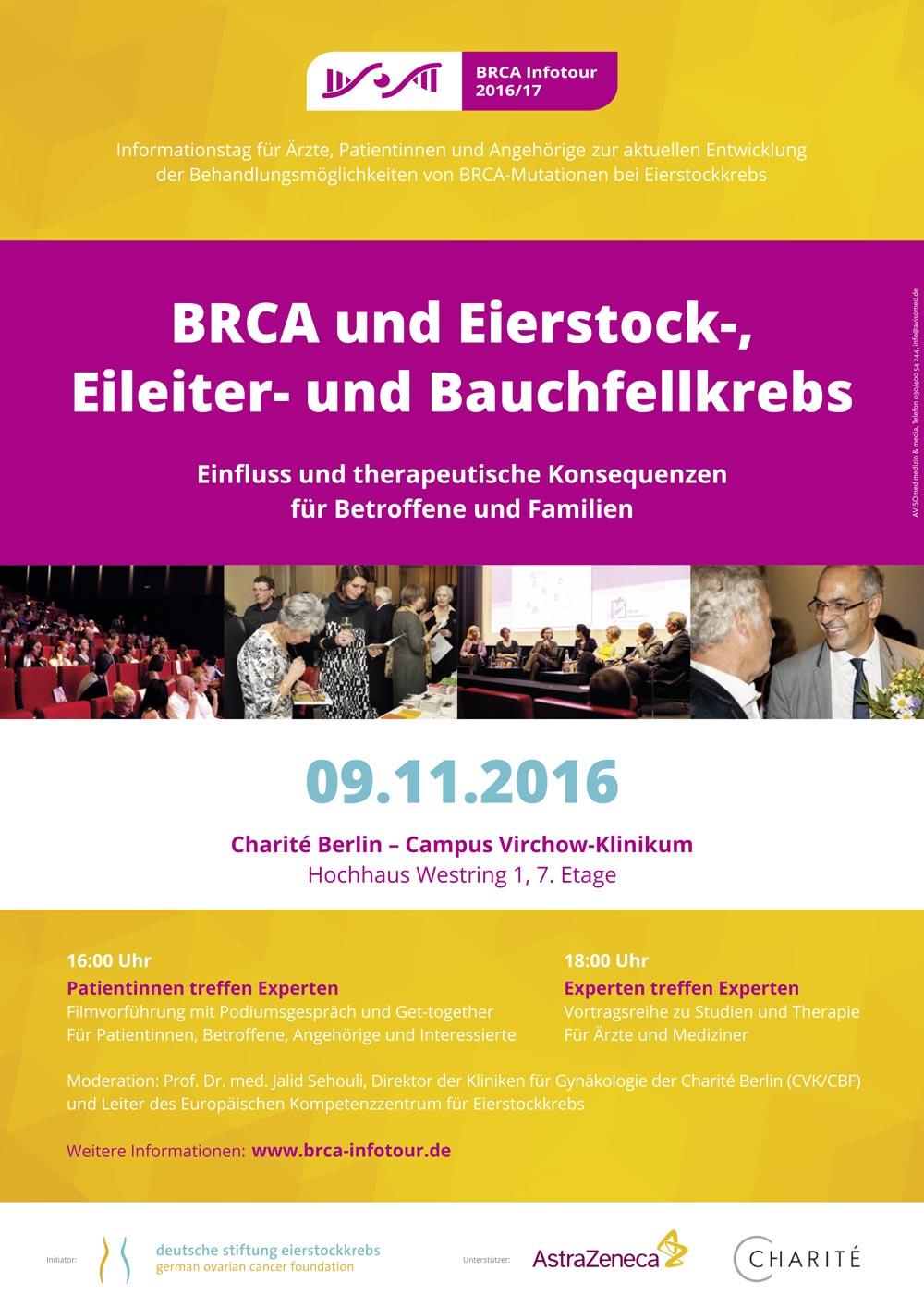 BRCA Roadshow Plakat