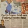 """Pressebeitrag B.Z. """"Dreimal neue Hoffnung gegen Krebs"""""""