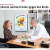 Pressebeitrag B.Z. – Comics gegen Krebs
