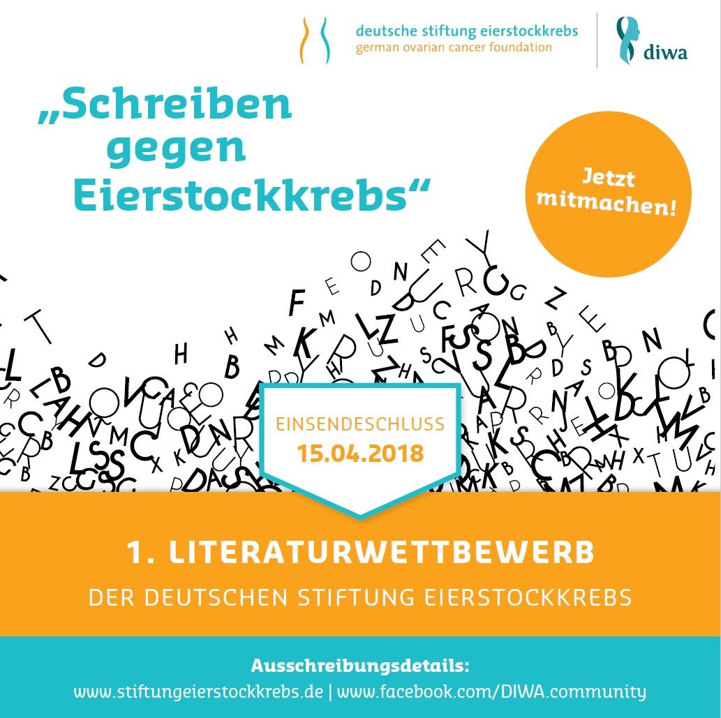Stiftung-Eierstockkrebs-Literaturwettbewerb