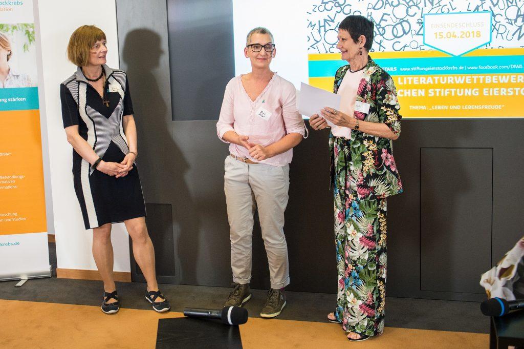 Impression zur Preisverleihung des Literaturwettbewerbs